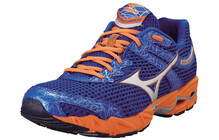 Mizuno Men's Wave Precision 13 imperial blue/orange/silver